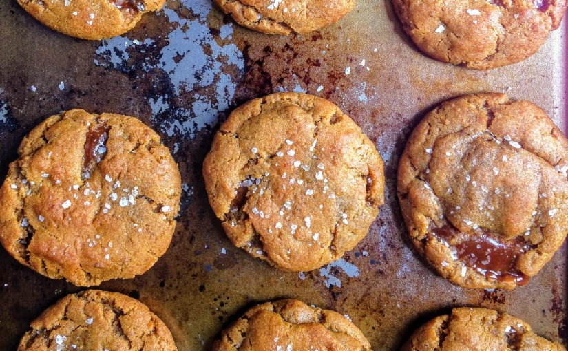 Salted Ginger CaramelCookies