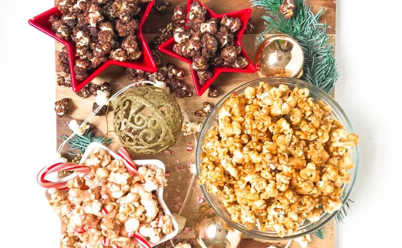 Nutcracker Popcorn Trio(V)