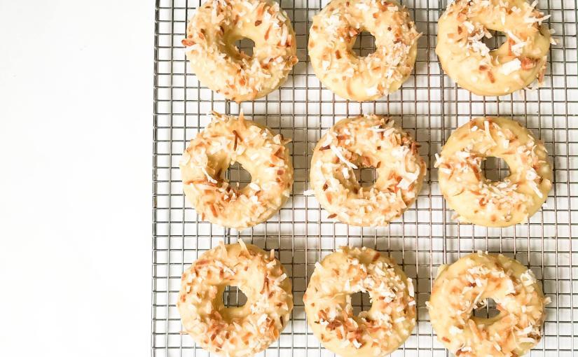 Mango Rum Donuts(V)(GF)