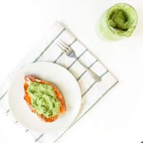 Broccoli Stem Pesto