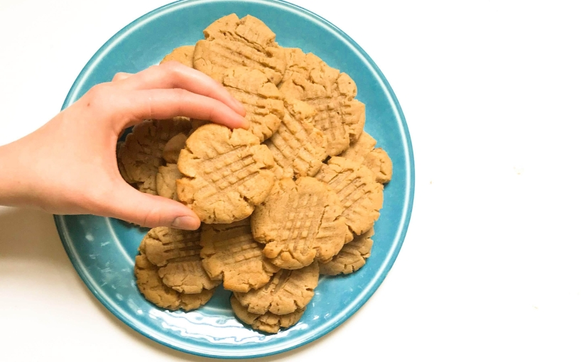 Peanut Butter Cookies (V)