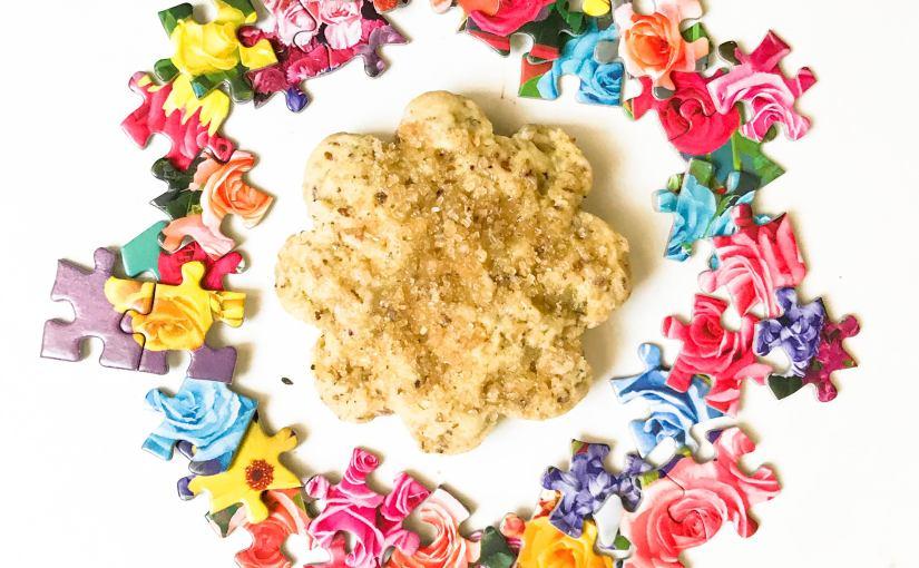 Baking with Tea: Brown Sugar Oatmeal Scones(V)